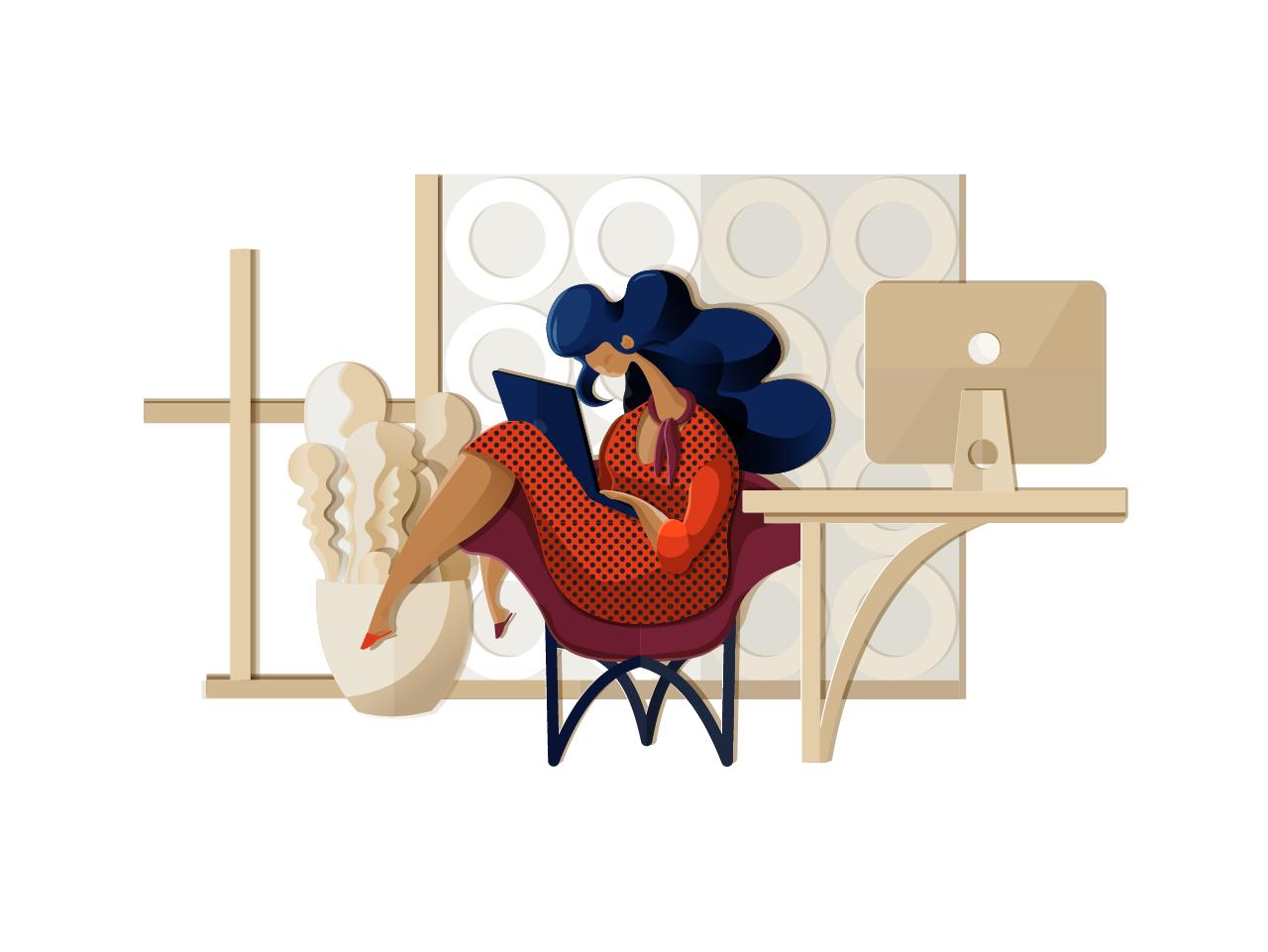 digital illustration design