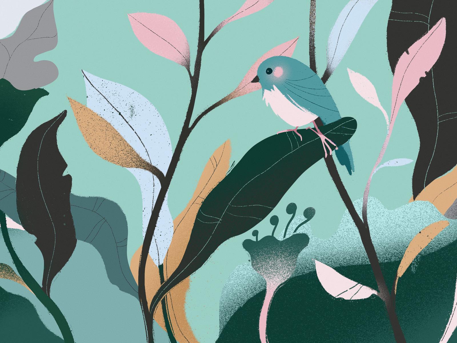 nature harmony illustration
