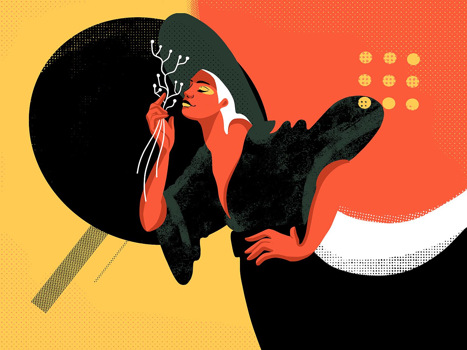 negative space illustration