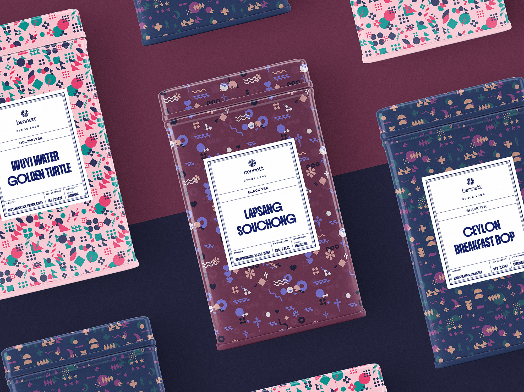 tea brand packaging design