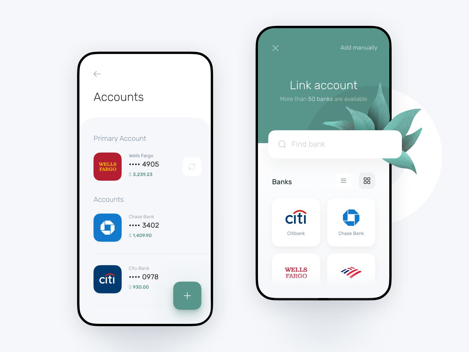 bank application design