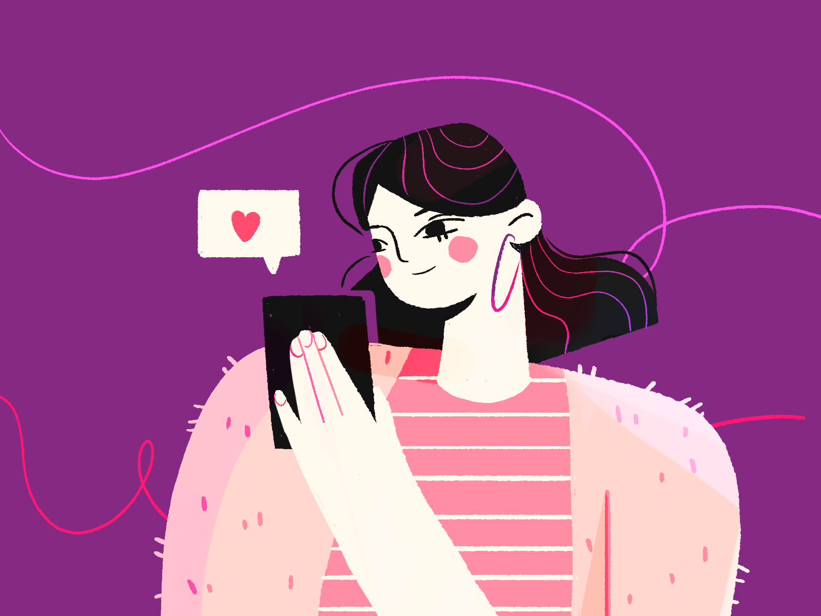 digital art love