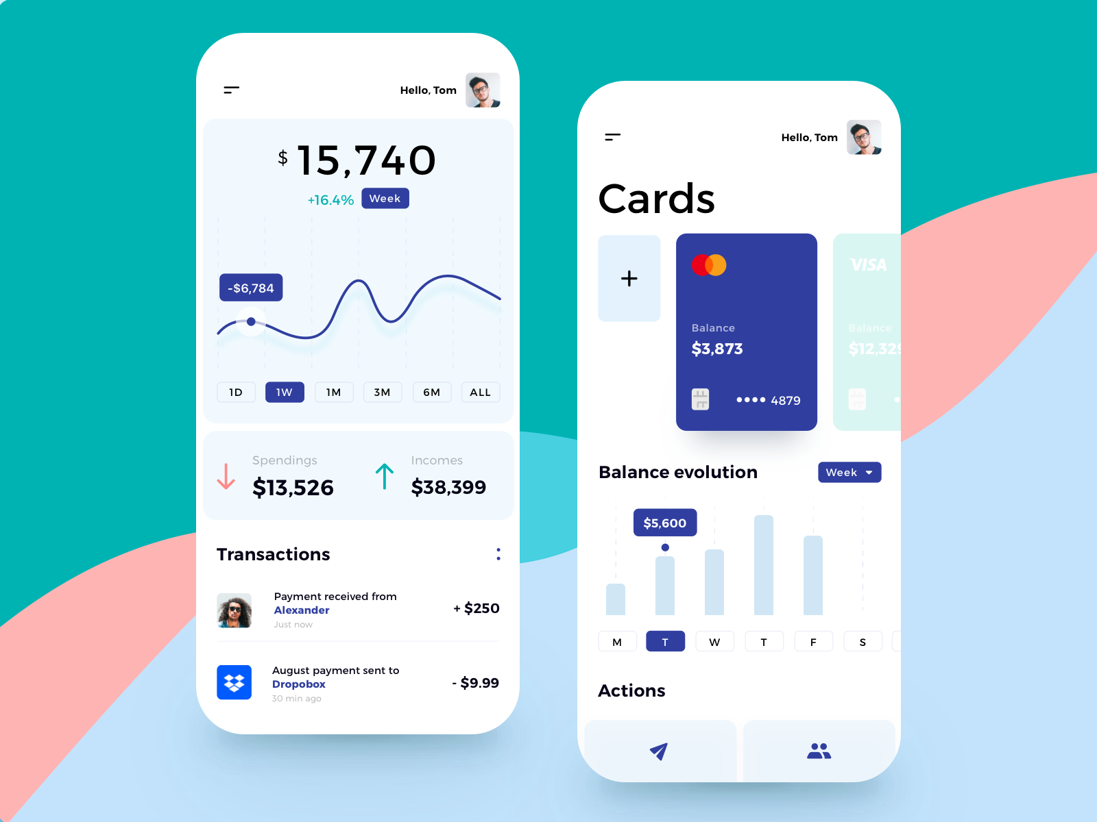 finance tracking app