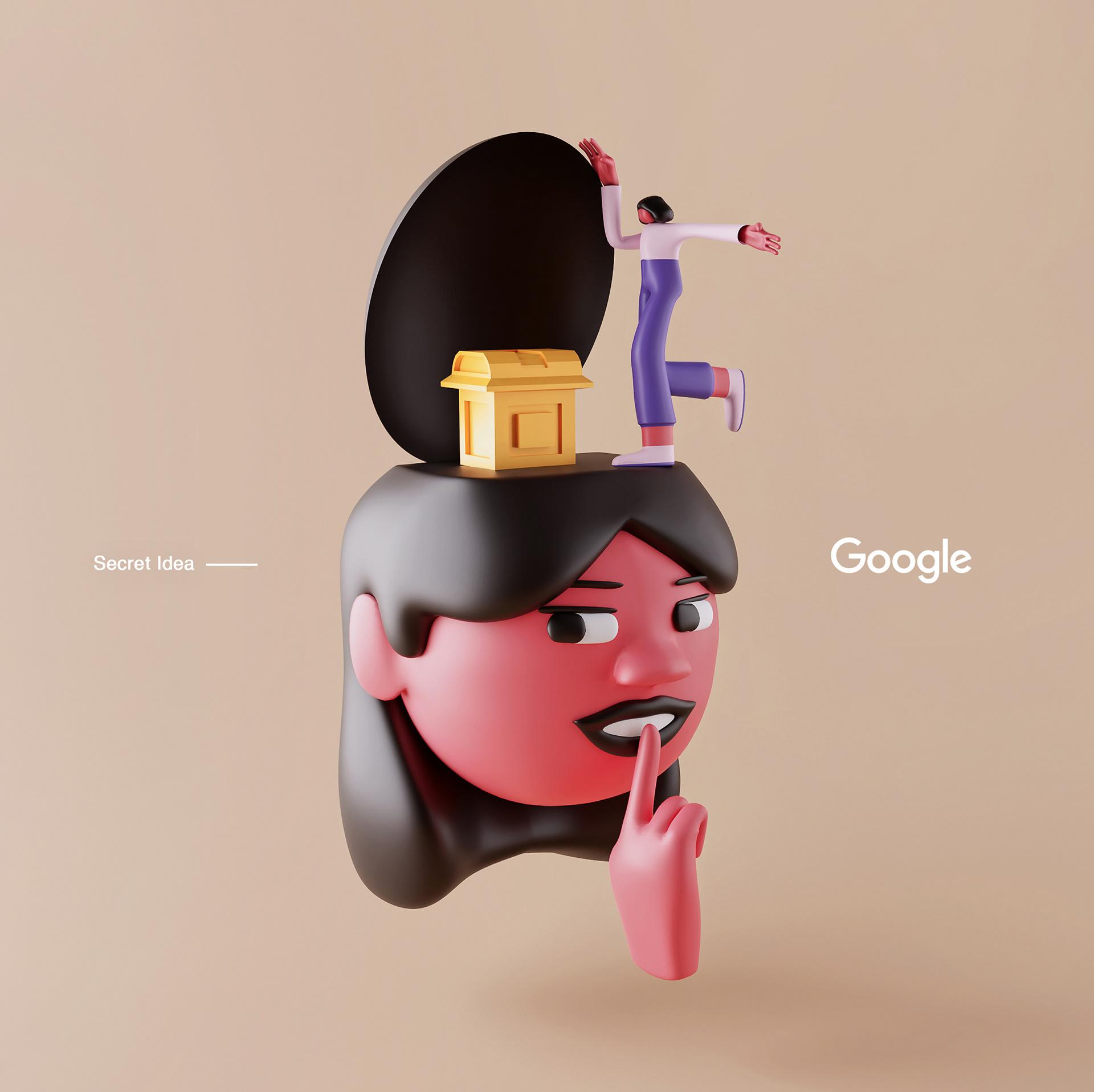 Искусство объема: яркие примеры 3D иллюстрации и анимации