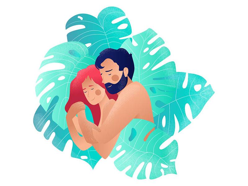love romantic digital art