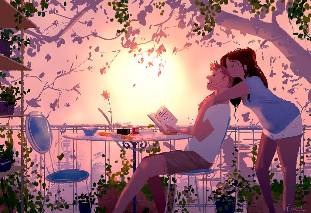 illustration art love