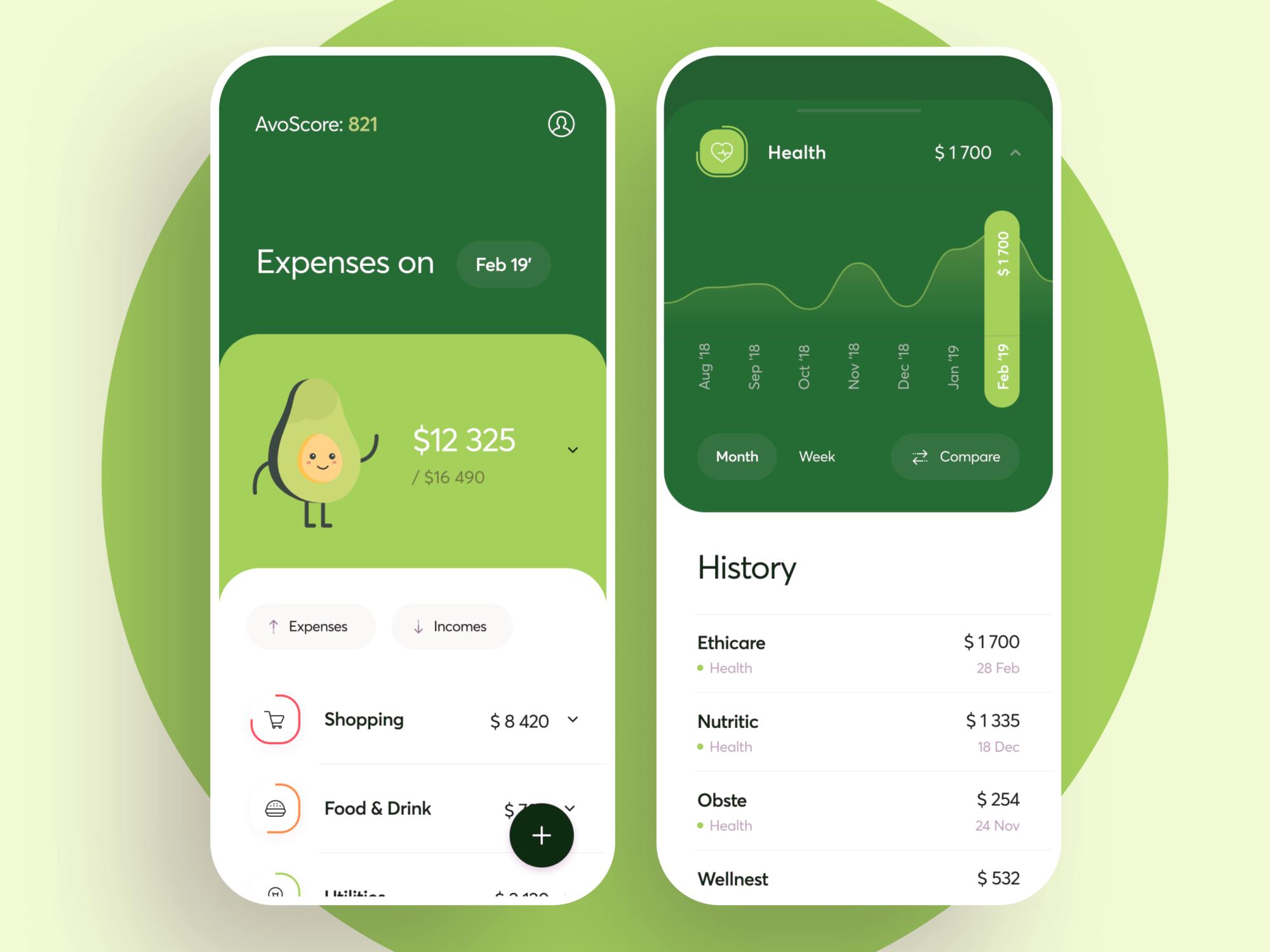 spending analysis app