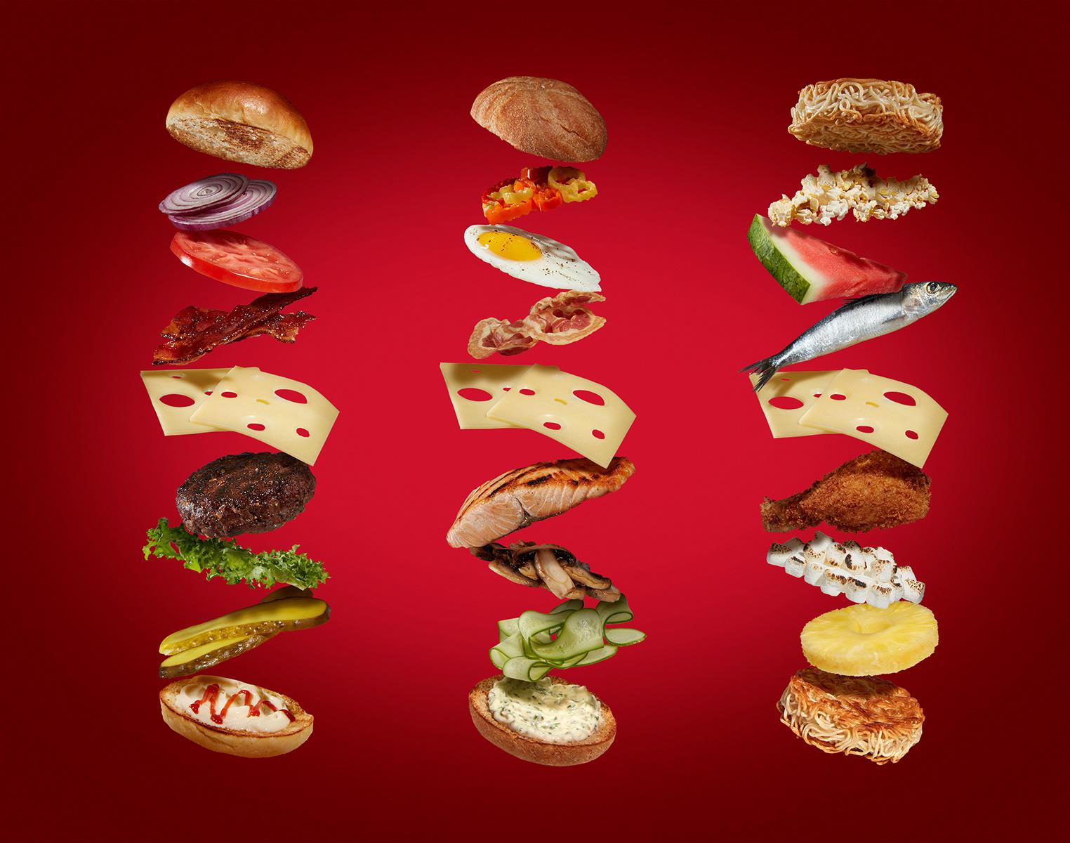 food photo inspiration cheesburger