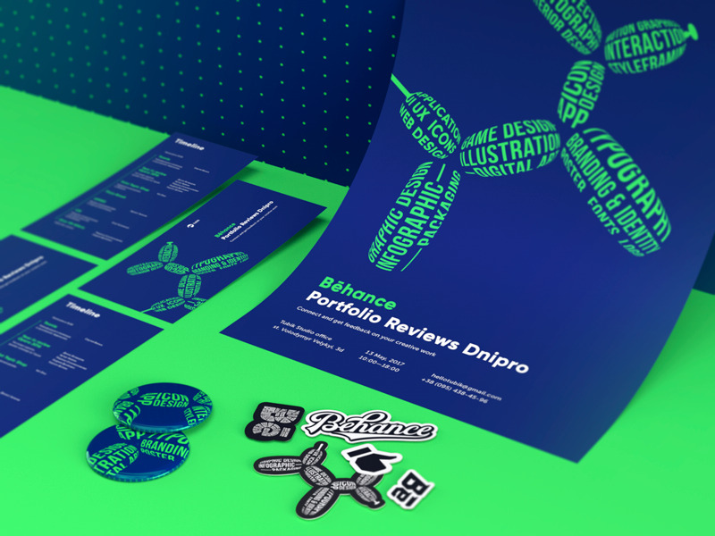 identity event branding design_tubik