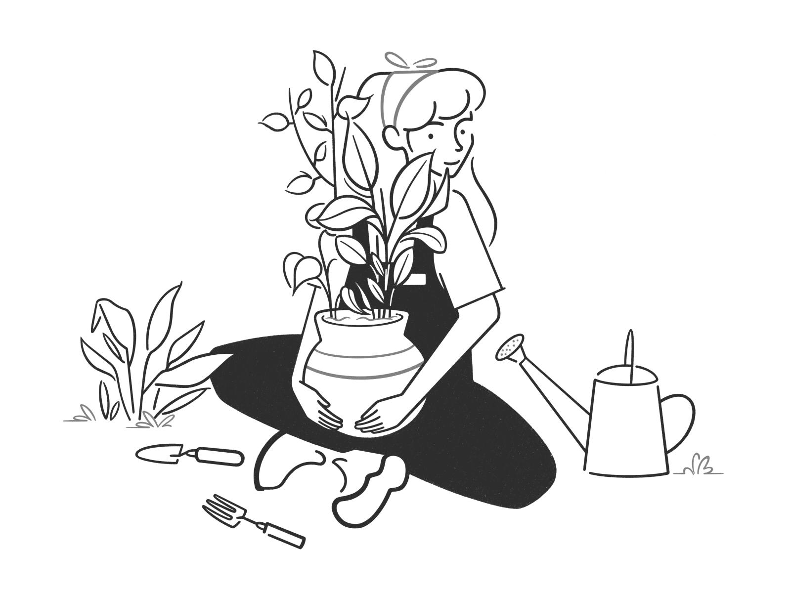 illustration art tatooine girl
