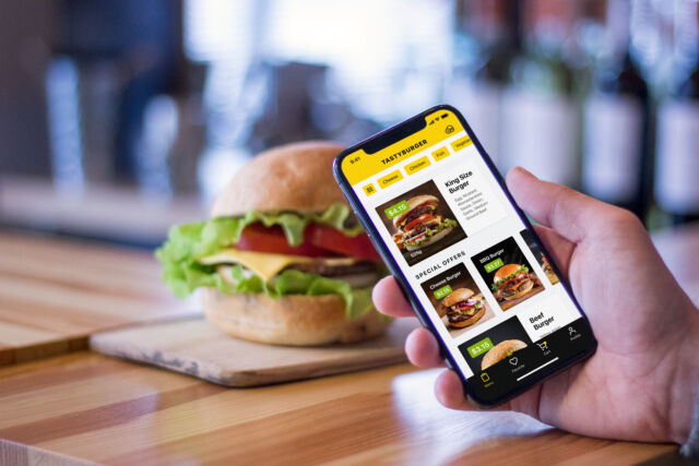 UI Design Case Study: Mobile App for Ordering Burgers