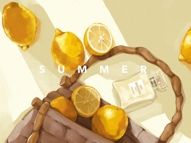 August Rush: Bright Collection of Summer Illustrations