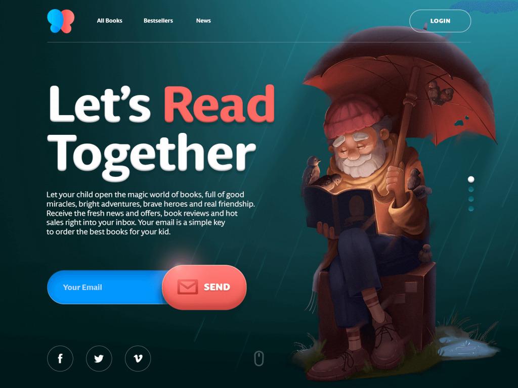 books for children website tubik