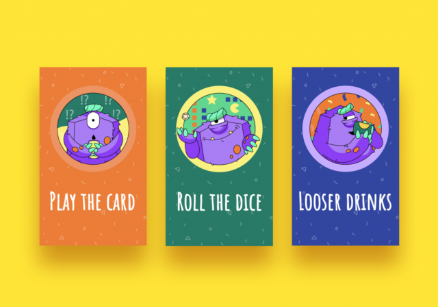 Graphic Design Case Study: Creating a Mascot for a Party Game