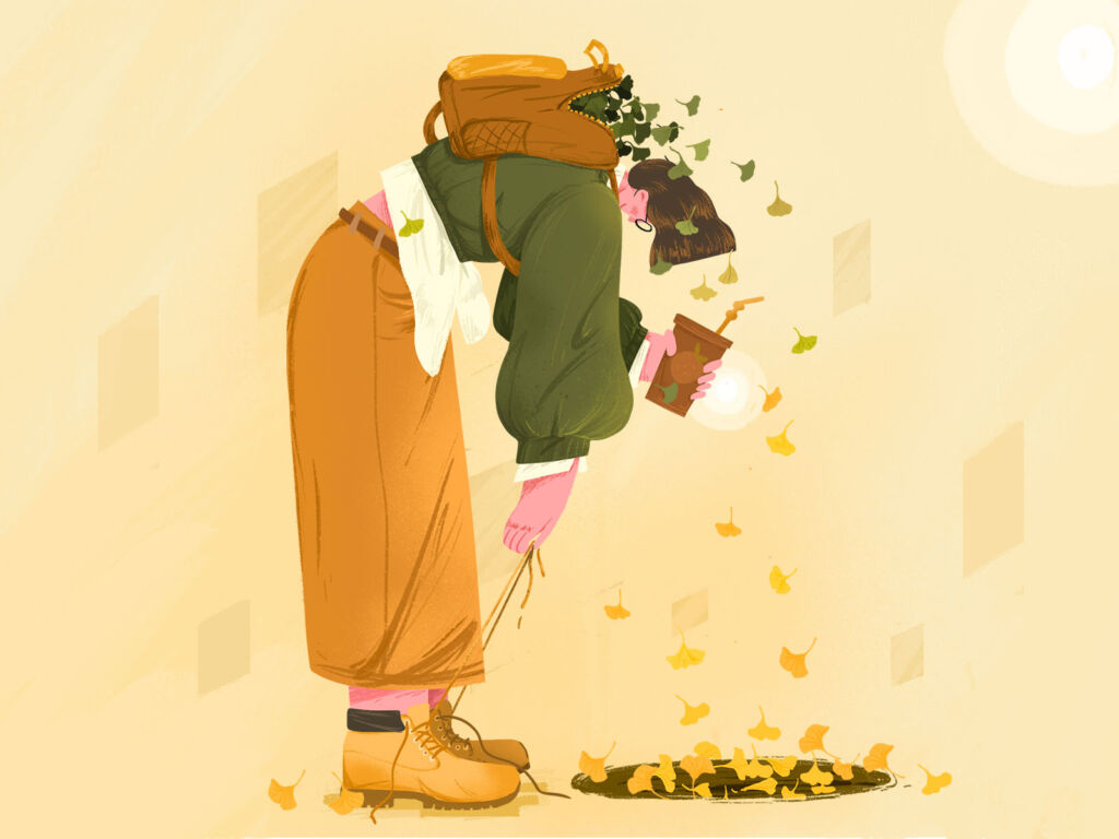 fall illustration art