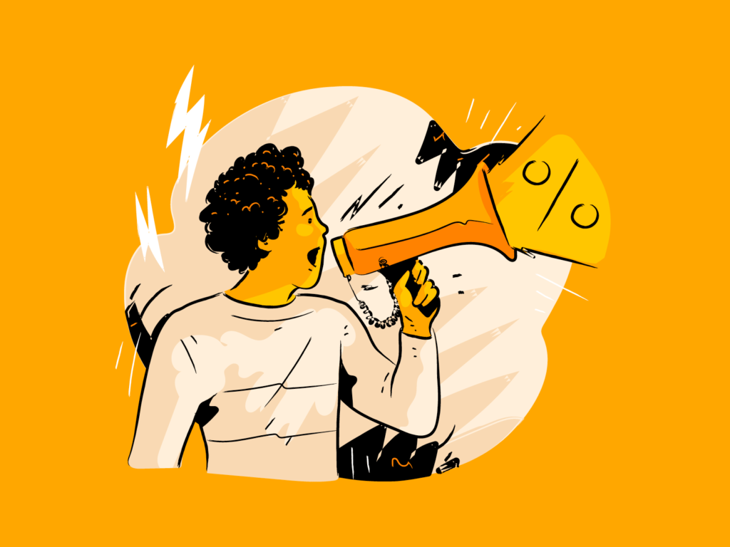 sales illustration