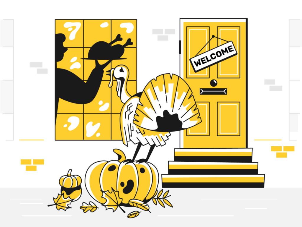 thanksgiving illustration