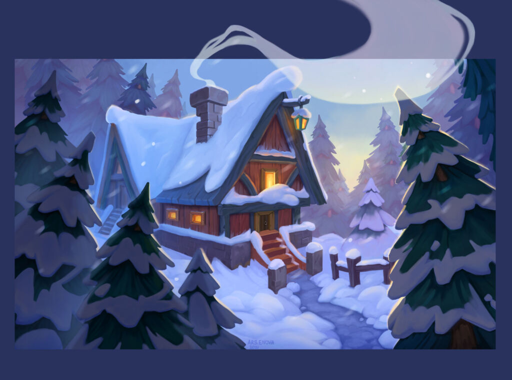 christmas art house