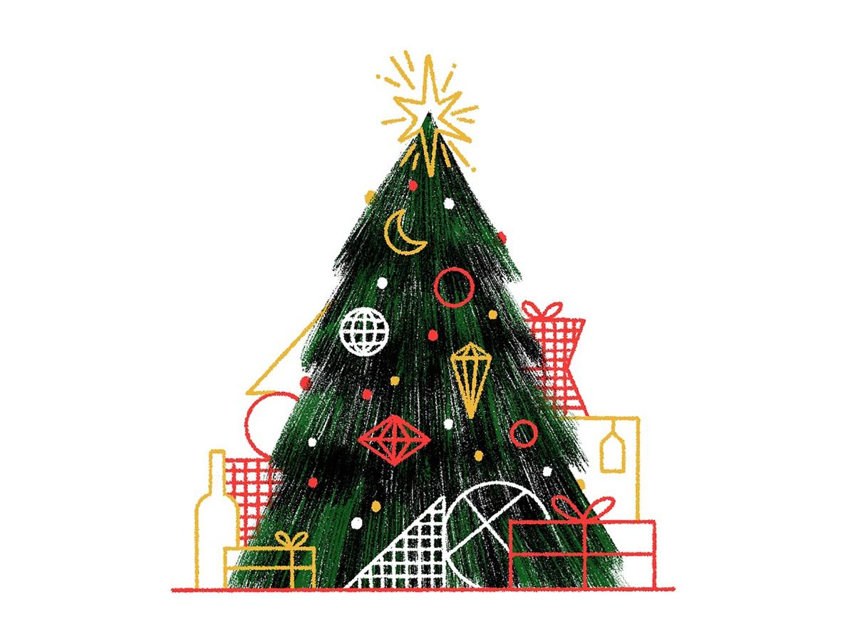Joy to the World: 50 Festive Christmas Illustrations
