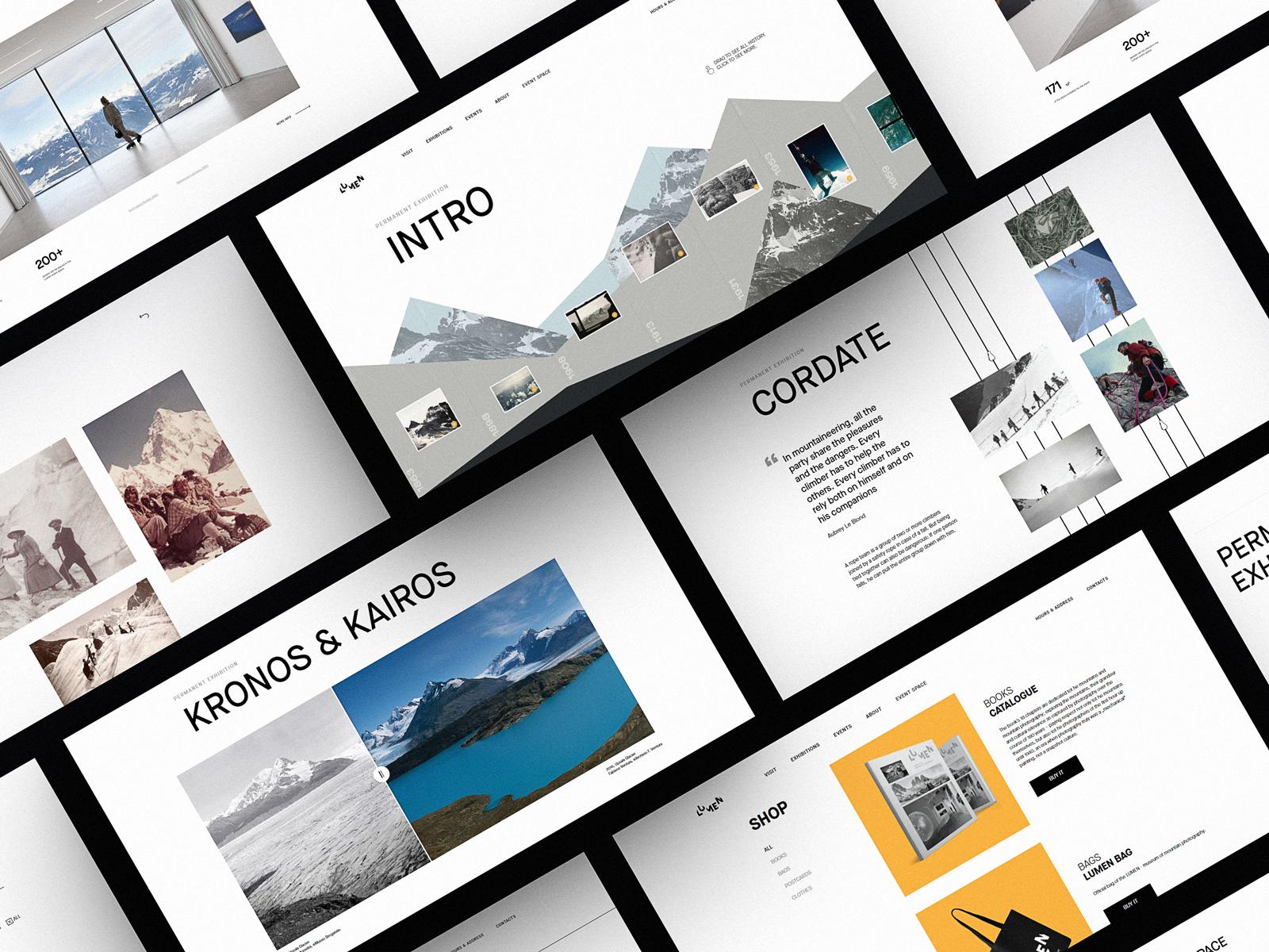 Web Design Case Study: Website for Lumen Museum