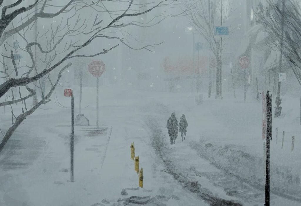 snowfall illustrations