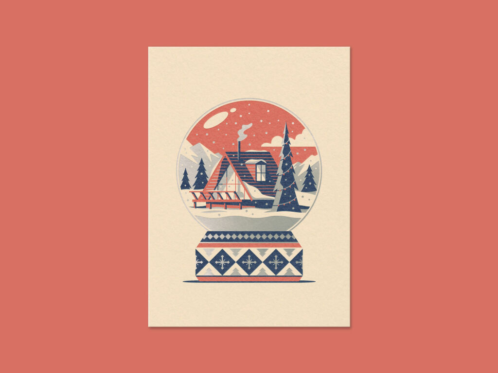 winter illustration art