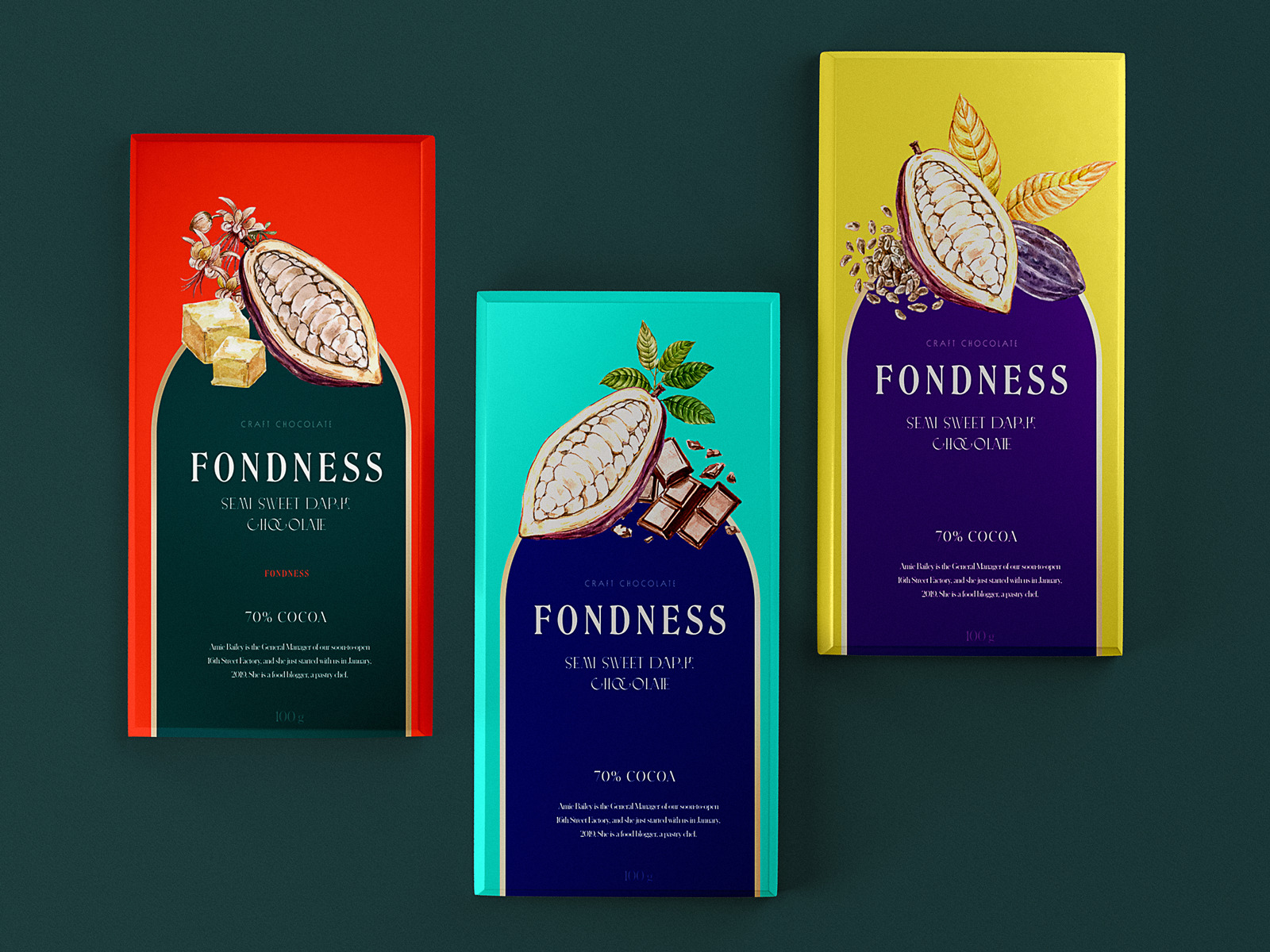 chocolate packaging design tubik studio