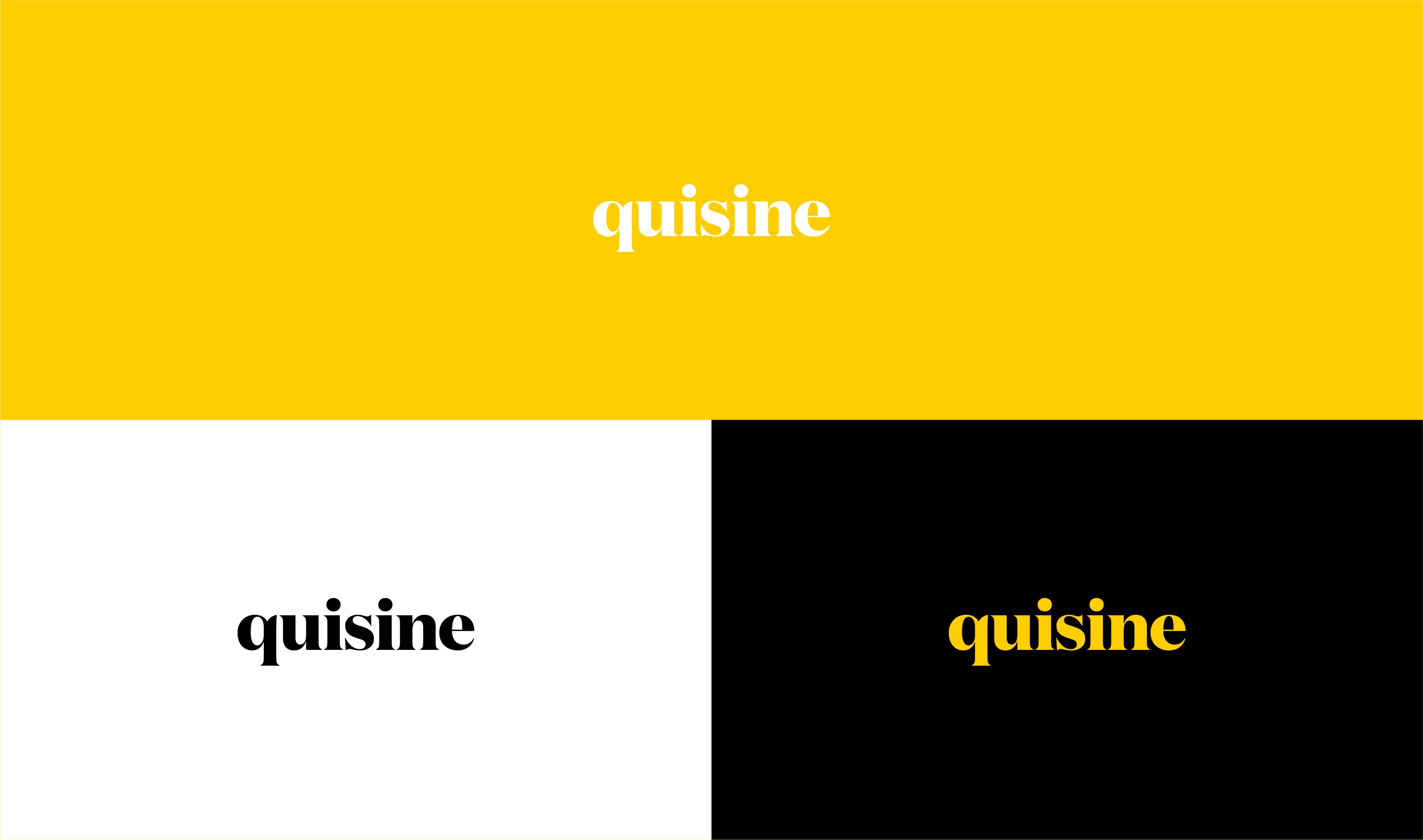 quisine_logo_design