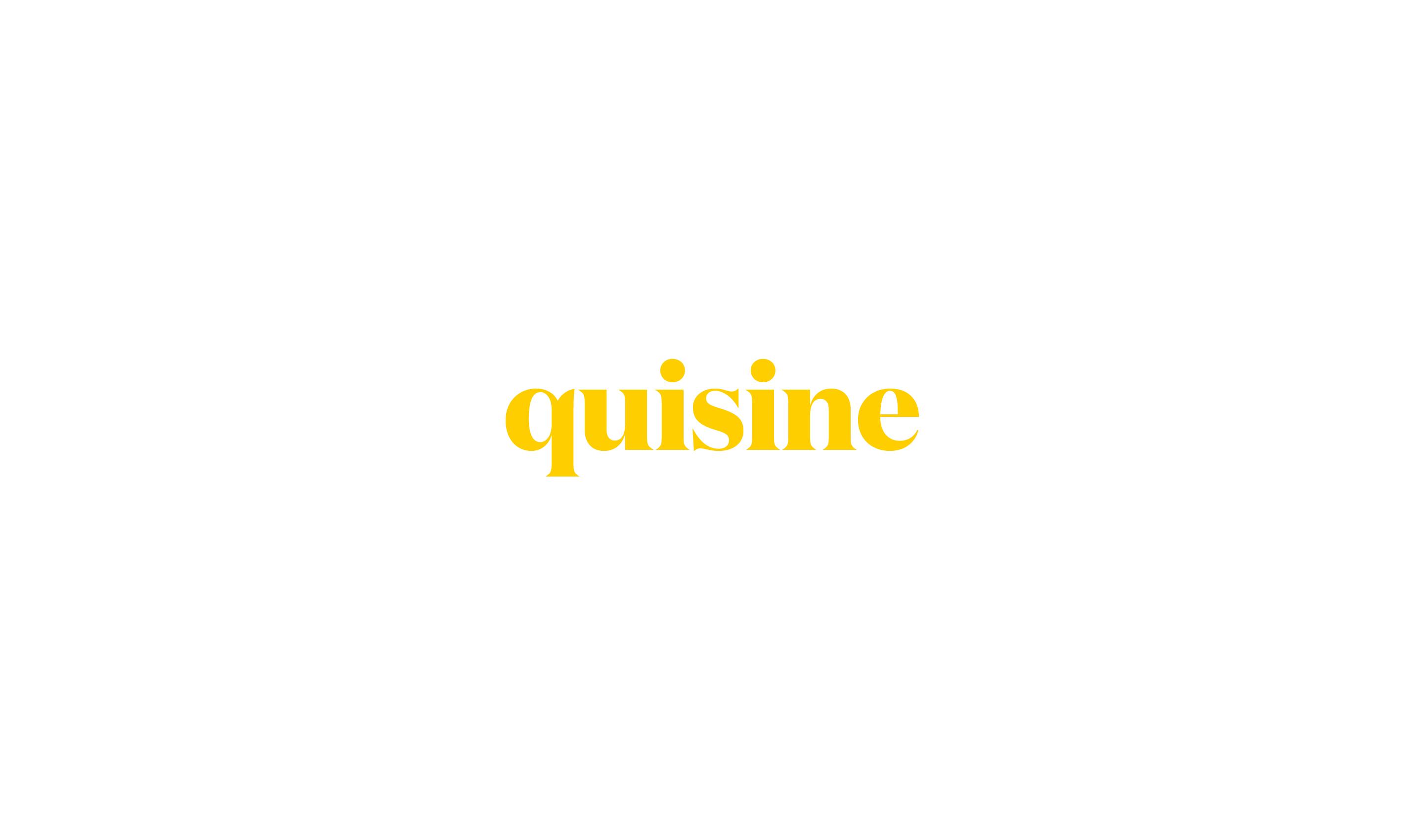 quisine logo design