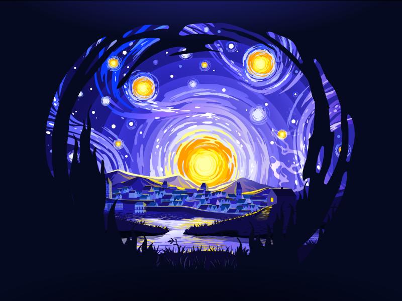 digital art andrey prokopenko illustration