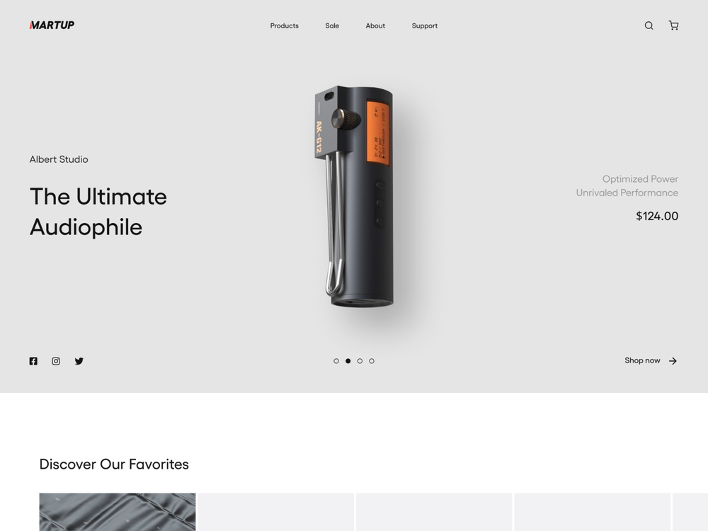 product page ecommerce