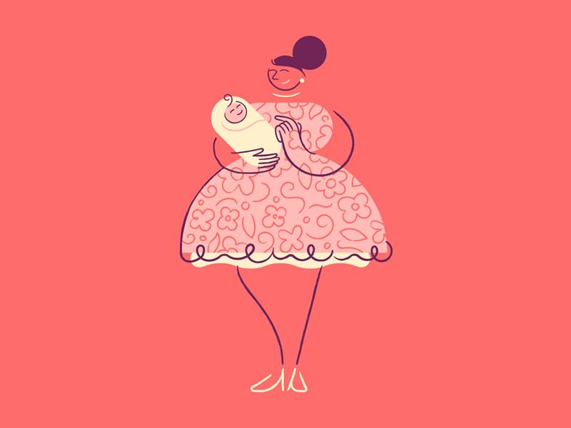 mothers illustration