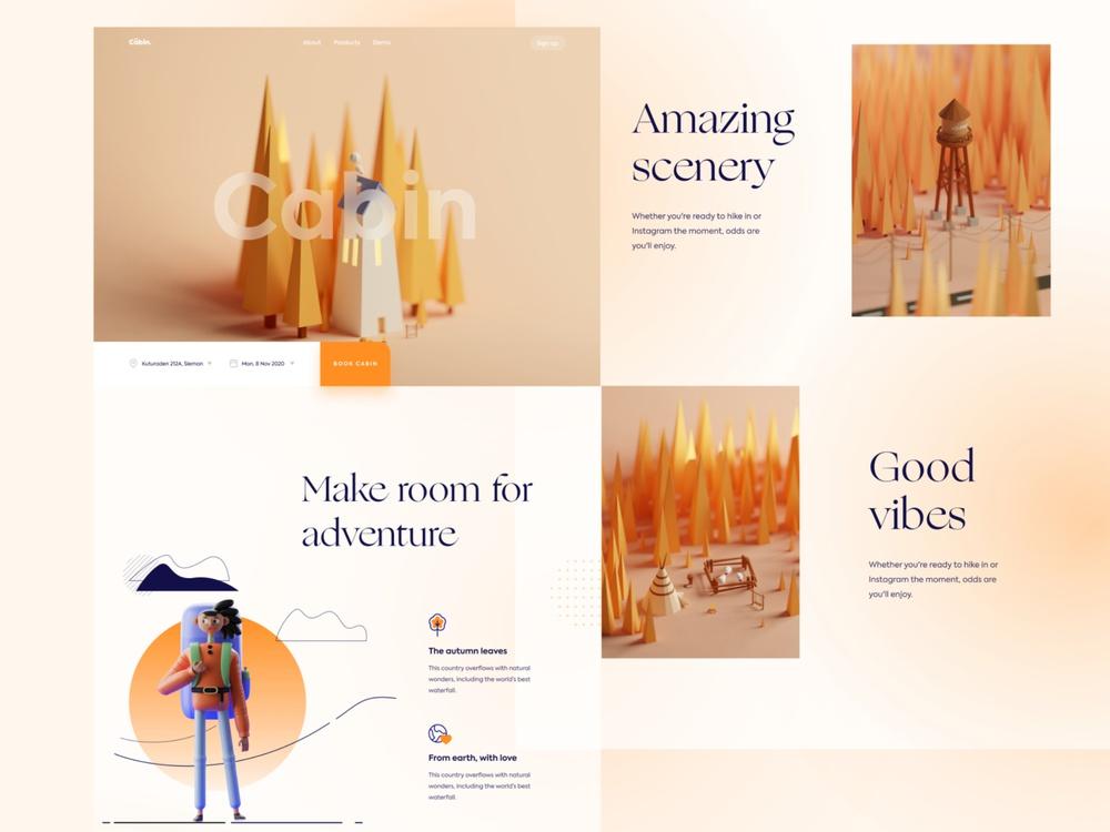 3d art webdesign