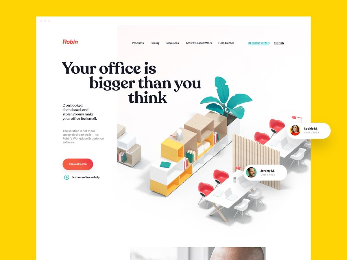 3d graphics web design