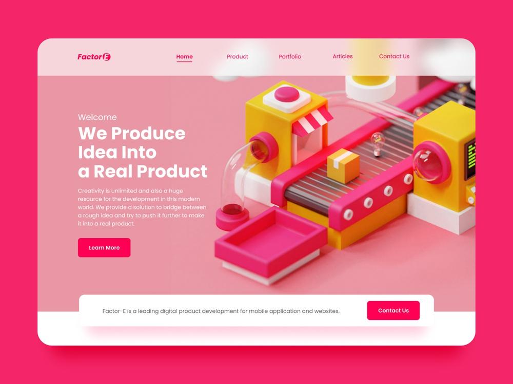 3d webdesign