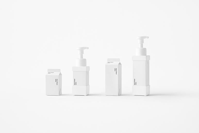 cartonpump design nendo