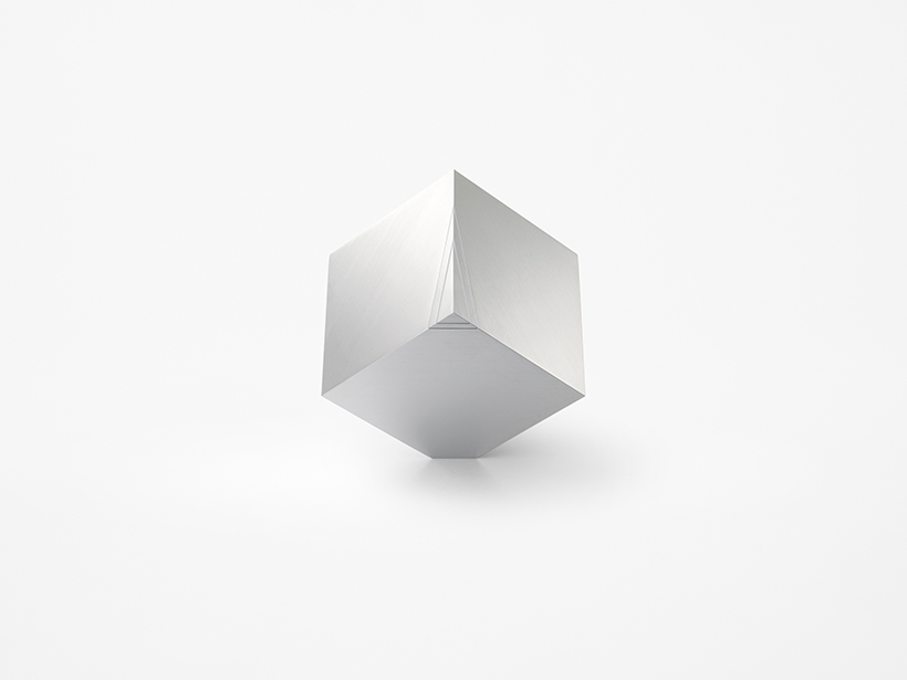 cubic clock design nendo