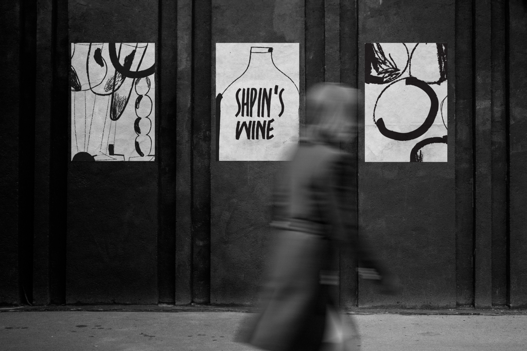 wine-identity design posters