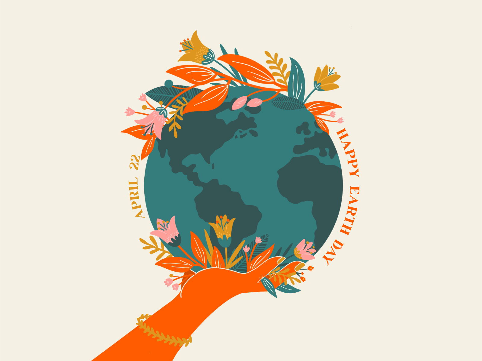 earth day illustrations