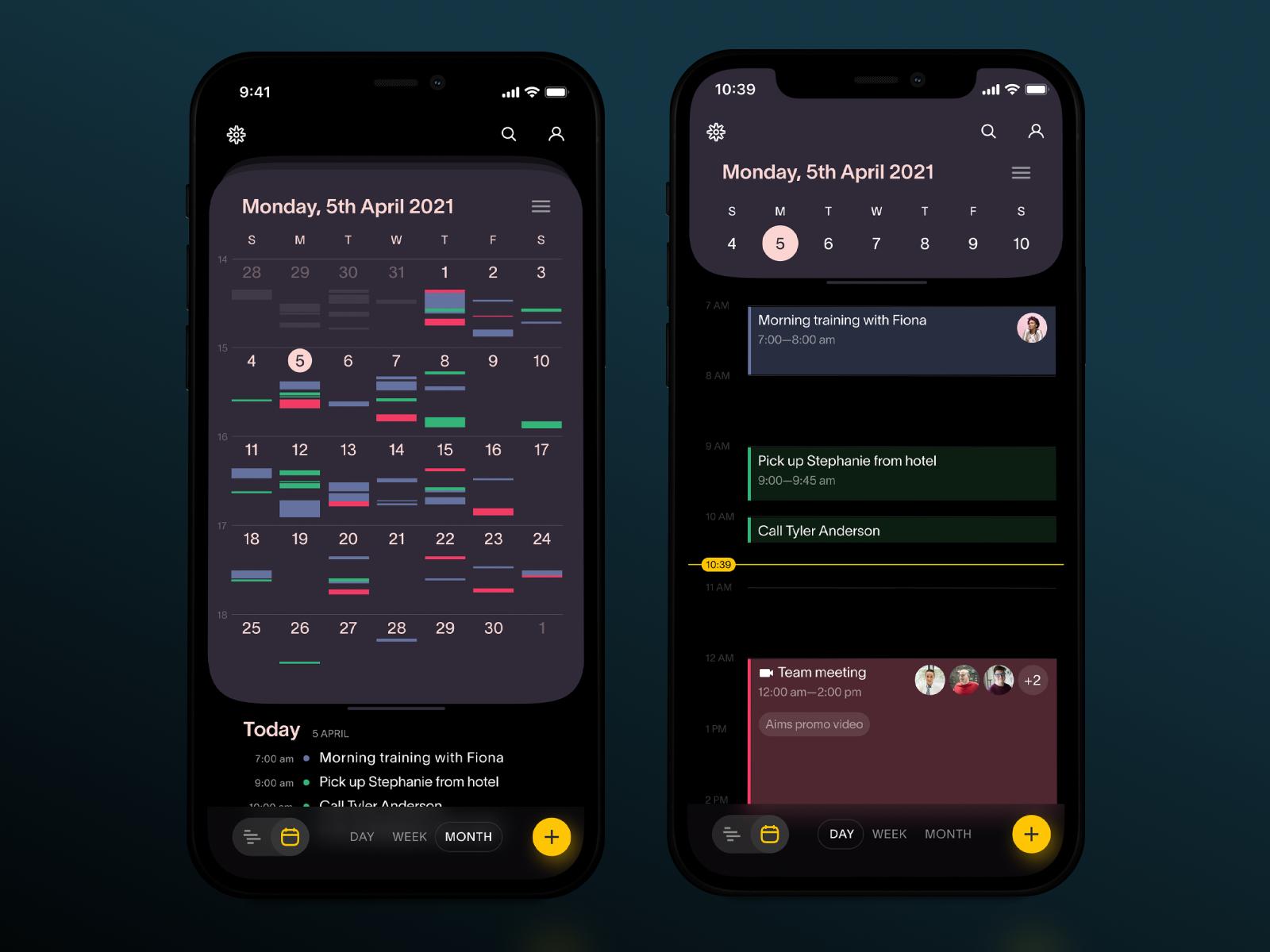 task manager mobile application tubik